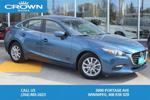 Pre-Owned 2018 Mazda3 GS **No Accidents/One Owner/Lease**