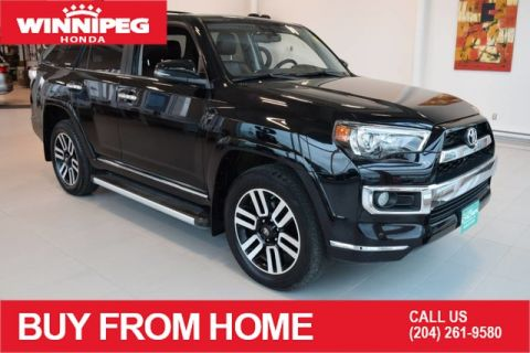 Pre-Owned 2017 Toyota 4Runner Limited / 5 passenger / Navigation / Full time 4WD system