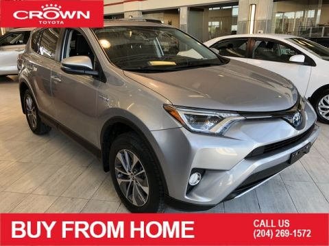 Certified Pre-Owned 2018 Toyota RAV4 Local Trade | One Owner | AWD | Hybrid LE+