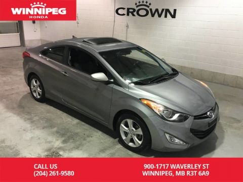 Pre-Owned 2013 Hyundai Elantra Coupe GLS/Fresh oil change/Bluetooth/Sunroof
