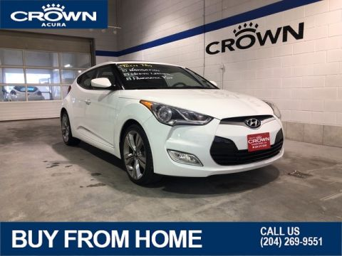 Pre-Owned 2013 Hyundai Veloster Tech ** Navigation ** Panoramic Sunroof** Heated Seats**