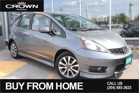 Pre-Owned 2013 Honda Fit Sport **One Owner/Local**