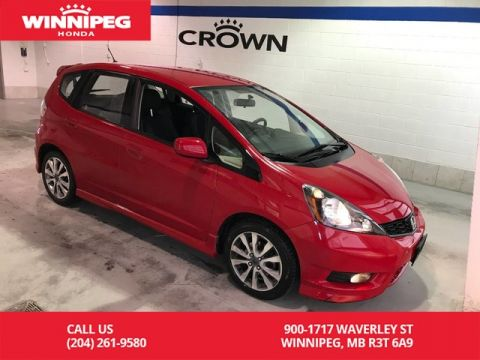 Pre-Owned 2014 Honda Fit Sport/One owner/Alloy wheels/Low KM