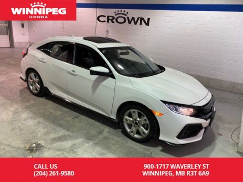 Certified Pre-Owned 2018 Honda Civic Hatchback Sport Manual/Winter tires/Heated seats/Rear view camera