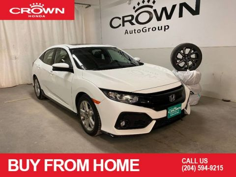 Pre-Owned 2018 Honda Civic Hatchback Sport Manual | CROWN ORIGINAL | APPLE CARPLAY | ANDROID AUTO | HEATED FRONT SEATS | BACKUP CAMERA