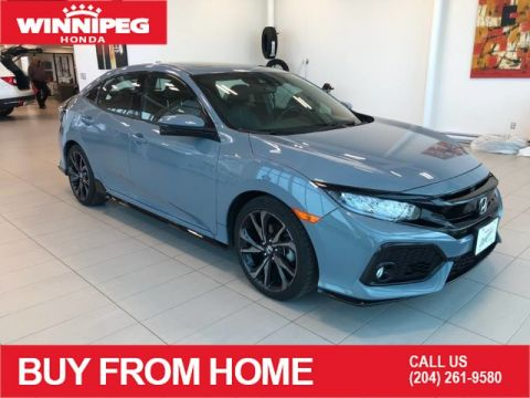 Certified Pre-Owned 2017 Honda Civic Hatchback Certified / Sport Touring / Navigation / Heated seats / Honda sensing