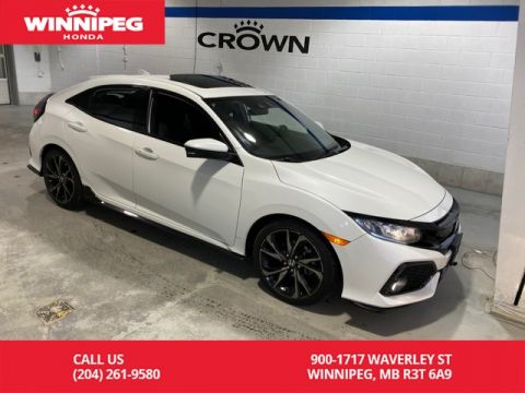 Certified Pre-Owned 2017 Honda Civic Hatchback Sport w/Honda Sensing / Certified / Sunroof /