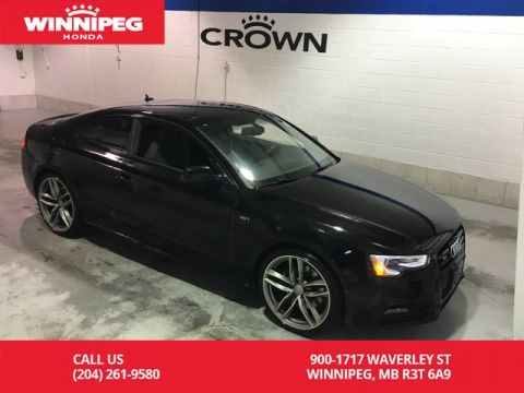 Pre-Owned 2017 Audi S5 Dynamic Edition/S5/Winter tires/Heated seats/Rear view camera