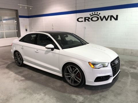 Pre-Owned 2016 Audi S3 quattro 2.0T Technik / Clean Carproof / One Owner / Low Kms / Local