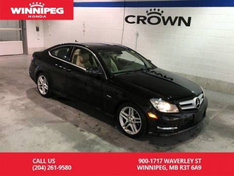 Pre-Owned 2012 Mercedes-Benz C-Class C 250 RWD/Sunroof/Heated seats/Great summer cruiser