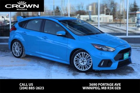 Pre-Owned 2017 Ford Focus RS AWD *LOCAL ONE OWNER / VERY RARE VEHICLE*