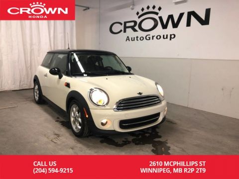 Pre-Owned 2012 MINI Cooper Hardtop 2dr Cpe Classic/ SUNROOF/ KEYLESS ENTRY/ REAR ROOF SPOILER