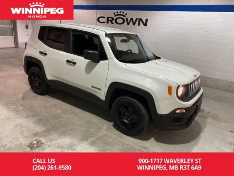 Pre-Owned 2015 Jeep Renegade 4WD/Sport/Rare/Low kilometres
